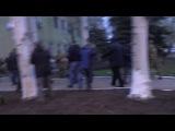 Захват российскими террористами здания горотдела милиции в г.Краматорск, 12.04.2014